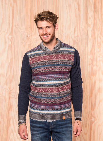 Jacquard Pullover - Colours & Sons