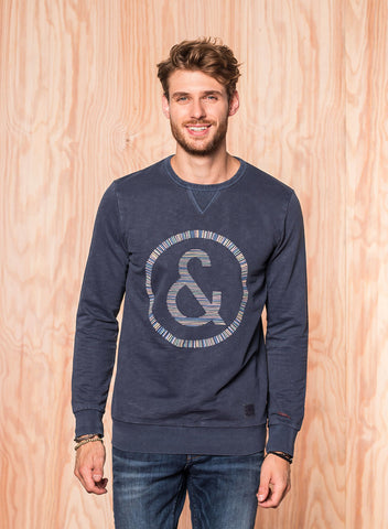 Basic Sweatshirt Navy - Colours & Sons