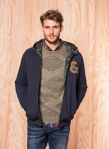 Wendejacke Camouflage - Colours & Sons