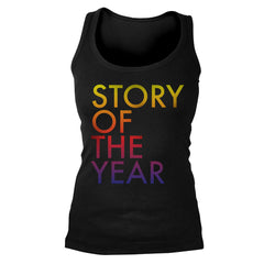 Official Story Of The Year Rainbow Tank Top