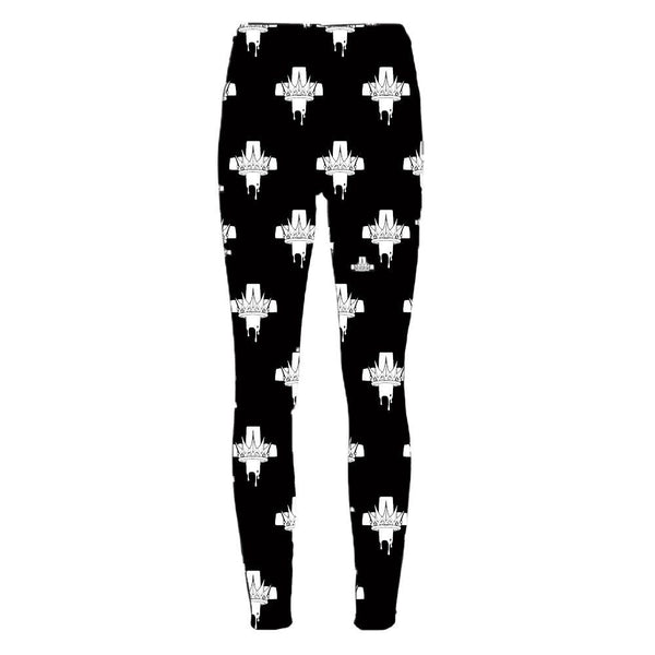 In This Moment Crown Logo Leggings