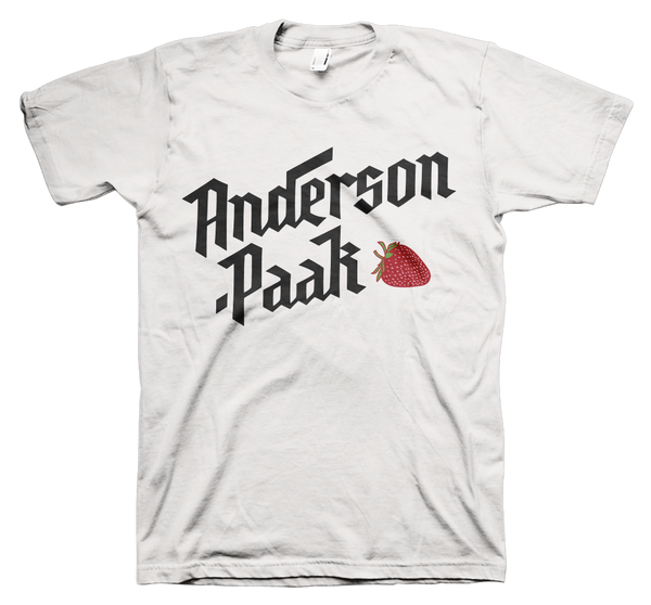 Anderson .Paak - Strawberry Tee (White)
