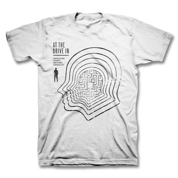 Catscan T-shirt - White - At The Drive In Official Store