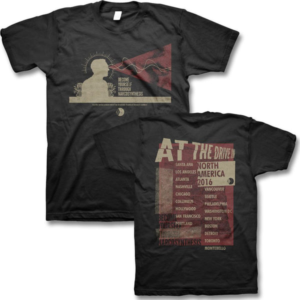 Narco Tour T-shirt - At The Drive In Official Store