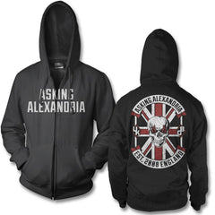 Rebel Zip Up Hoodie - Asking Alexandria Official Store - 1