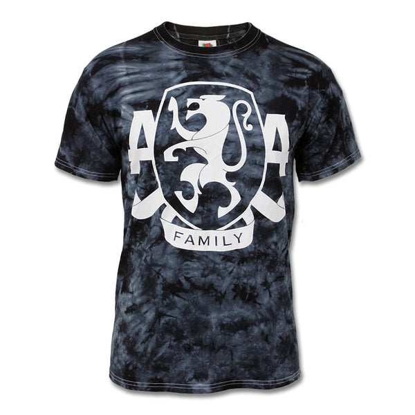 Official Asking Alexandria Tie Dye Crest T-shirt
