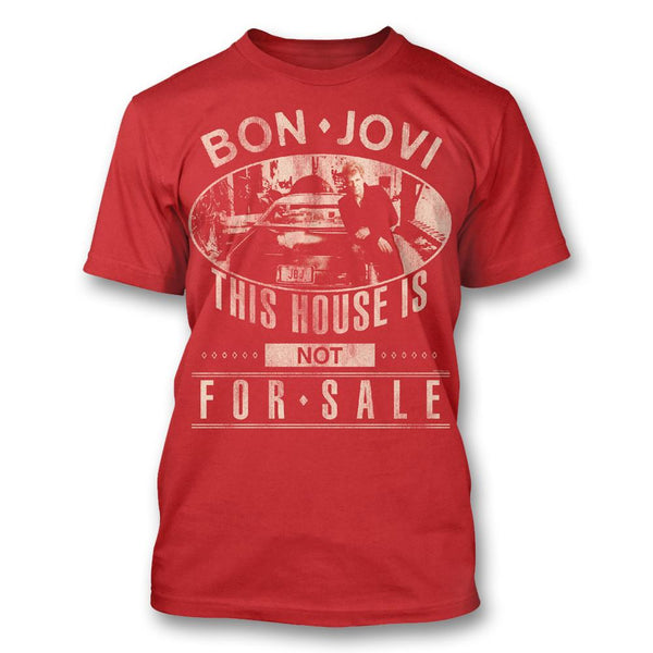 Bon Jovi - JBJ Car Photo T-shirt