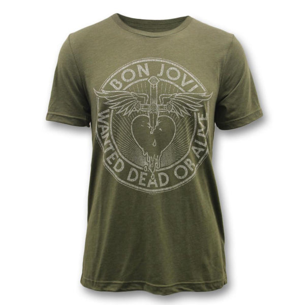 Bon Jovi - Wanted Dead Or Alive T-shirt