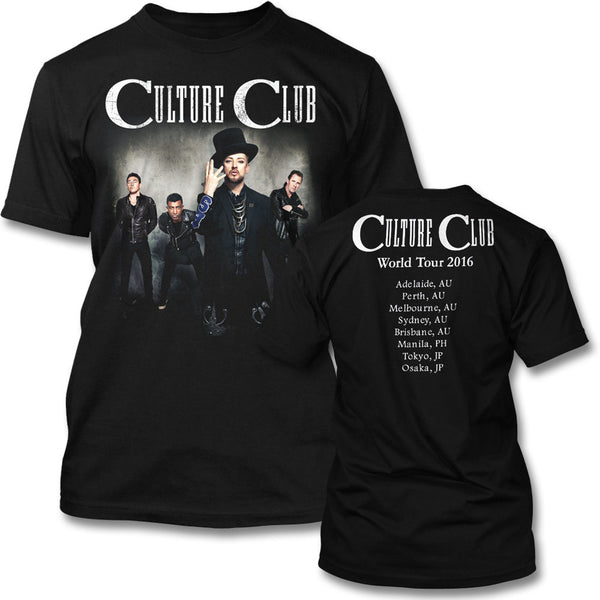 Culture Club - 2016 Asia/AU Tour T-shirt