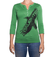 Daughtry - Raven Henley Women's T-Shirt
