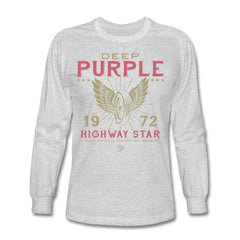 DEEP PURPLE '72 HIGHWAY STAR LONG SLEEVE TEE