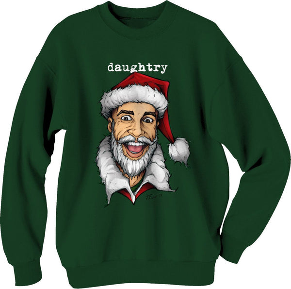 Santa Green Holiday Sweater