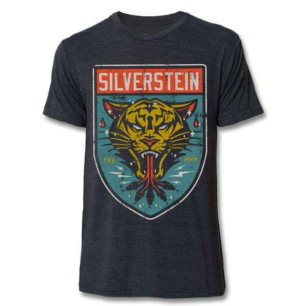 Official Silverstein Tiger T-shirt