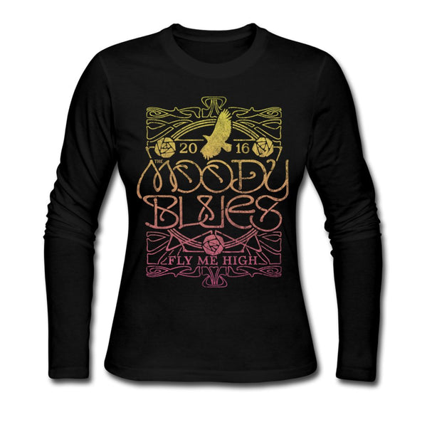 Fly Me High Ornate Ladies Long Sleeve