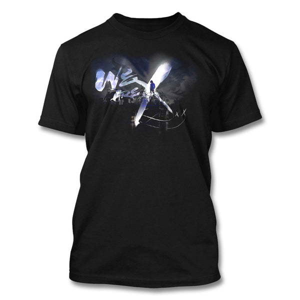 We Are X Blue Photo T-shirt - X Japan Official Online Store