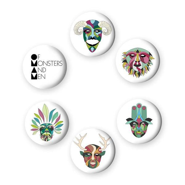 OMAM Button Set