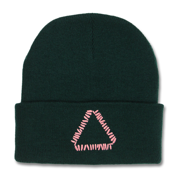 Official Warpaint Triangle Logo Beanie (Forest)