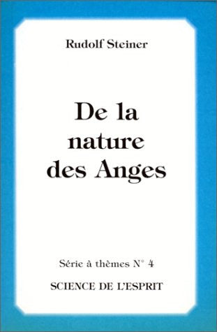 De la nature des anges