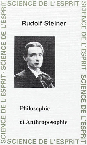 Philosophie et anthroposophie