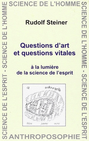Questions d'art et questions vitales