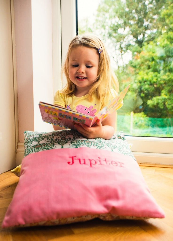 Personalised Reading Cushions