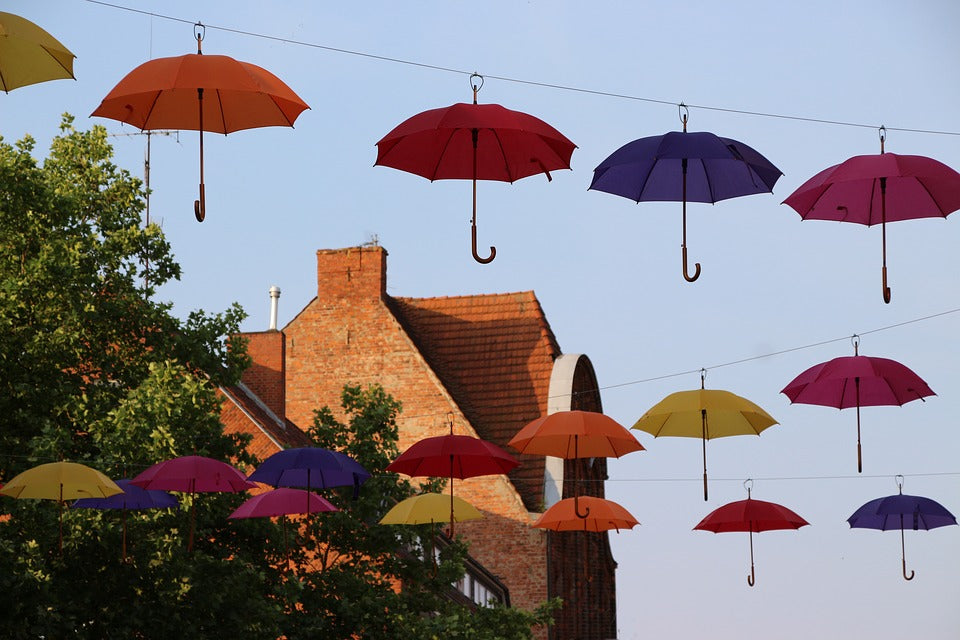 Rain, rain come again - it's time for umbrellas to shine!