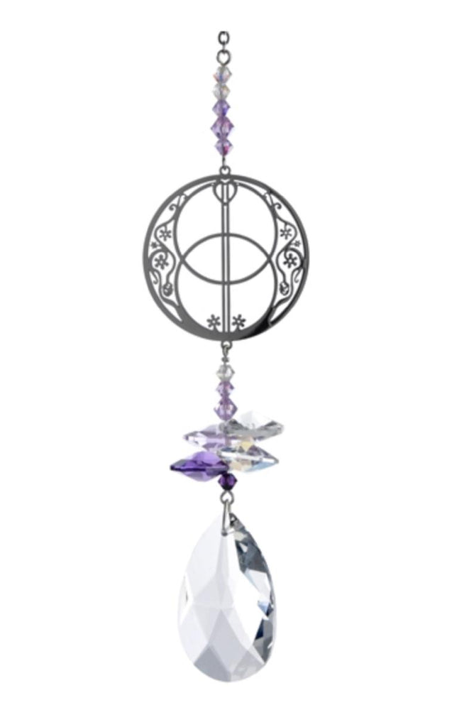 Discover the secrets of our Vesica Piscis suncatcher ...