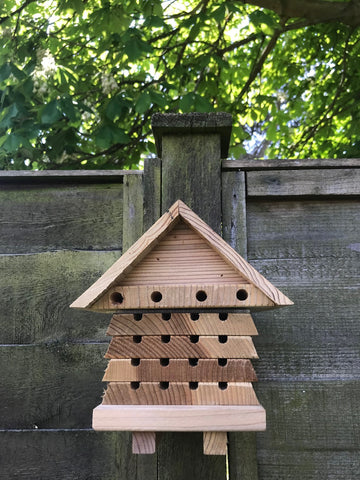 Solitary Bee Hotel by Wildlife World