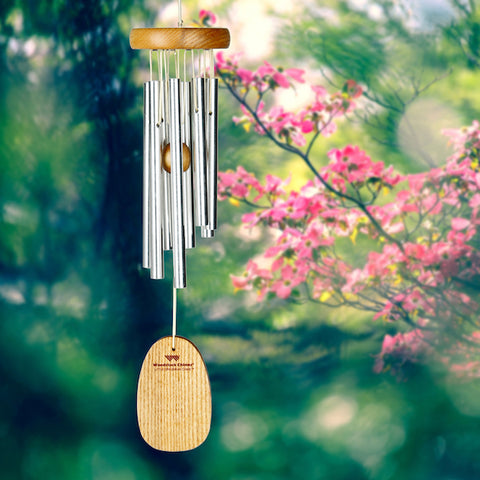 Woodstock windchime in garden