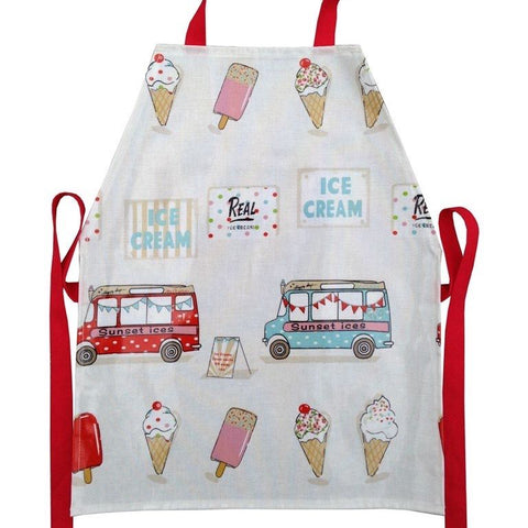 Kids PVC apron for messy play