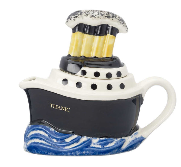 Titanic one cup teapot by Carter's of Suffolk - Peach Perfect