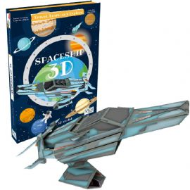 Sassi 3D Construct and learn - Spacecraft | Peach Perfect