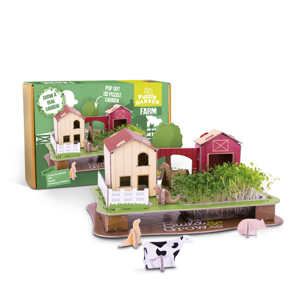 3D Puzzle Farm Garden - Peach Perfect
