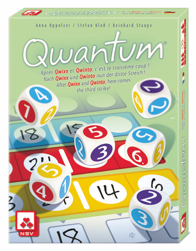 Qwantum strategy dice game - Peach Perfect - English version