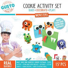 Gusto monster cookies baking activity set - Peach Perfect
