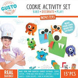 Monster cookie baking set