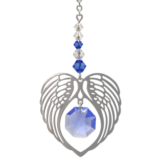 Angel wing Sapphire - Peach Perfect