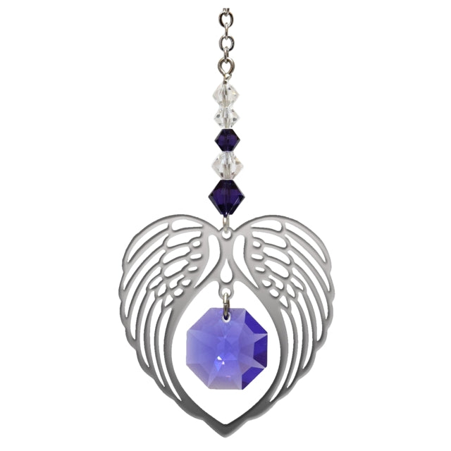 Angel Wing Amethyst - Peach Perfect