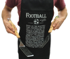 Man in Football Crazy Apron with 2 implements - Peach Perfect