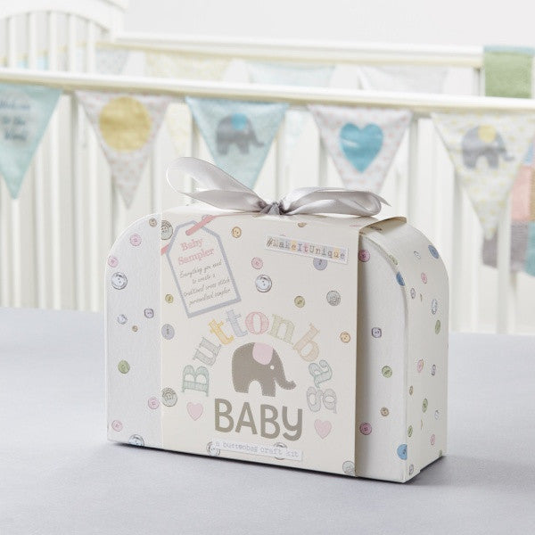Buttonbag baby sampler kit - Peach Perfect