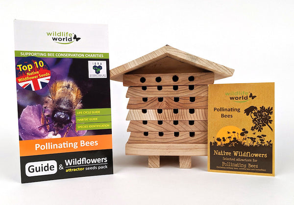 Bee Care Gift set - Wildlife World - Contents - Peach Perfect