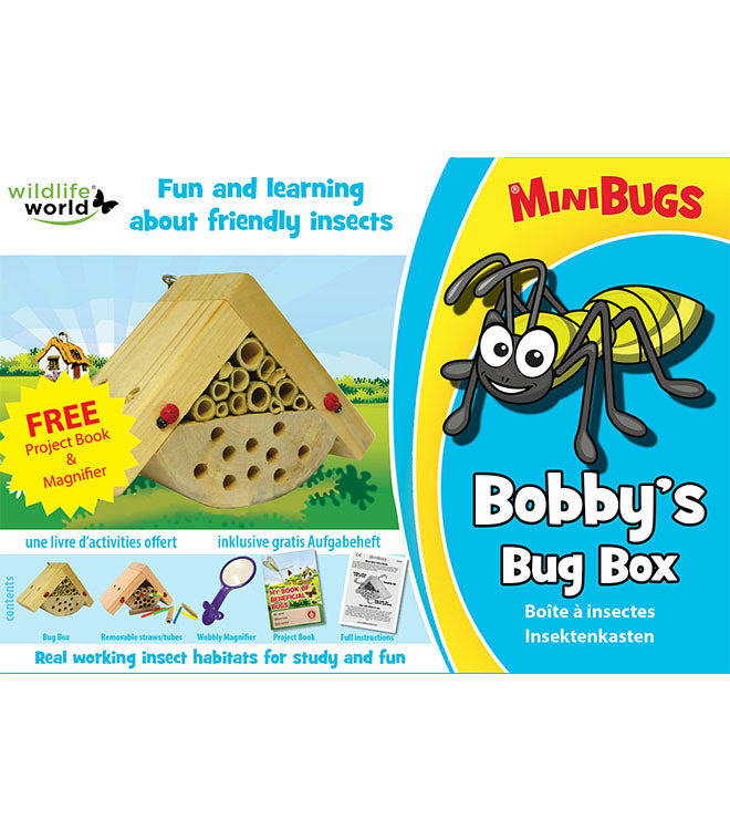 Bobby's minibug box Box front - Peach Perfect