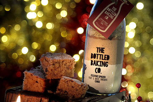 Festive Cake mix by The Bottled Baking Company - Peach Perfect
