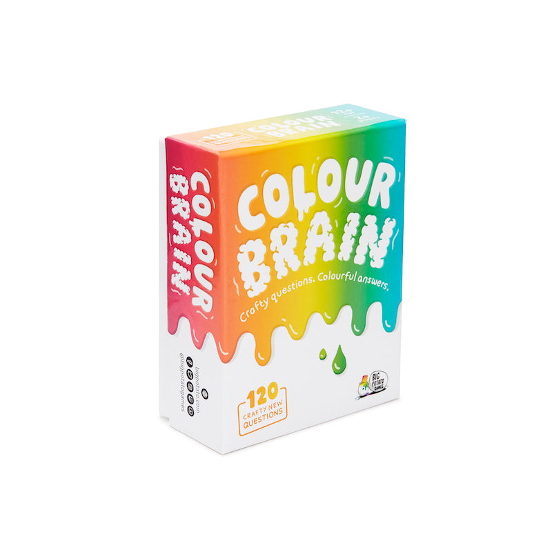 Travel Colourbrain game by Big Potato Games - Peach Perfect