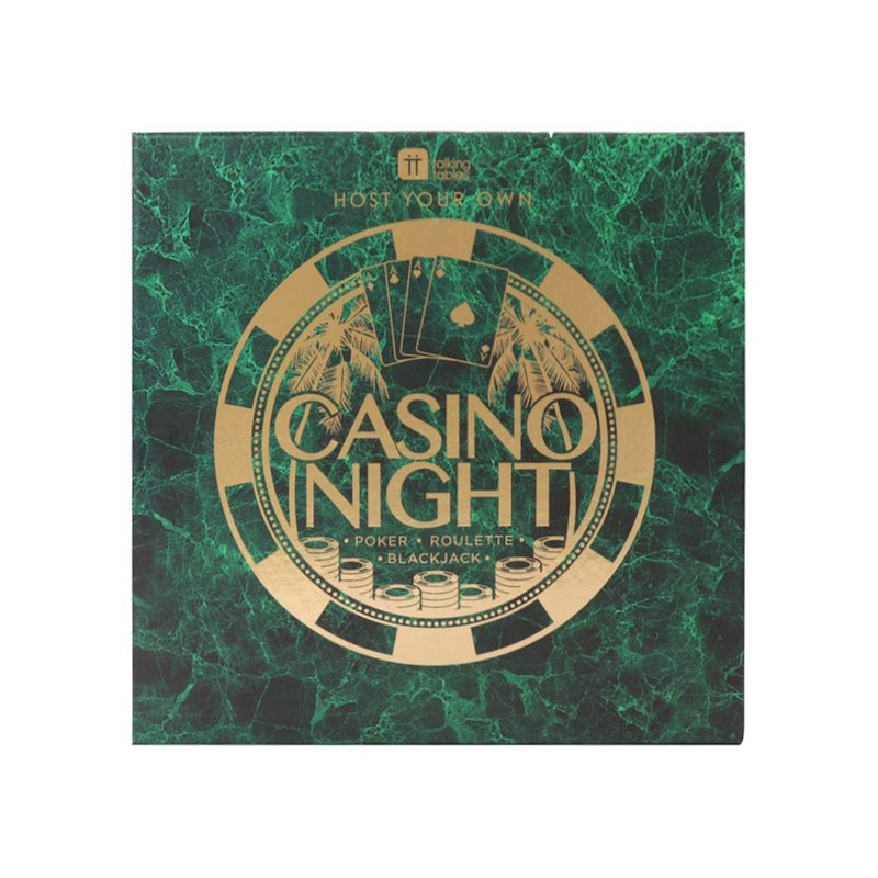 Casino Night Game by Talking Tables - Peach Perfect