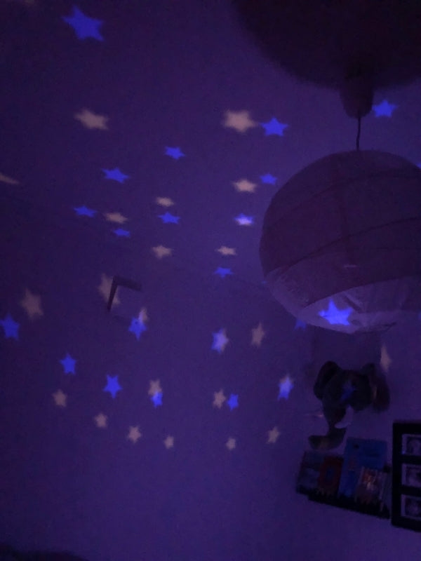 City Star Light by Pelli Anni - projecting stars - Peach Perfect