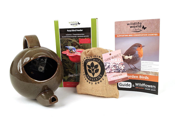 Cottage garden gift pack by Wildlife World - Contents -Peach Perfect