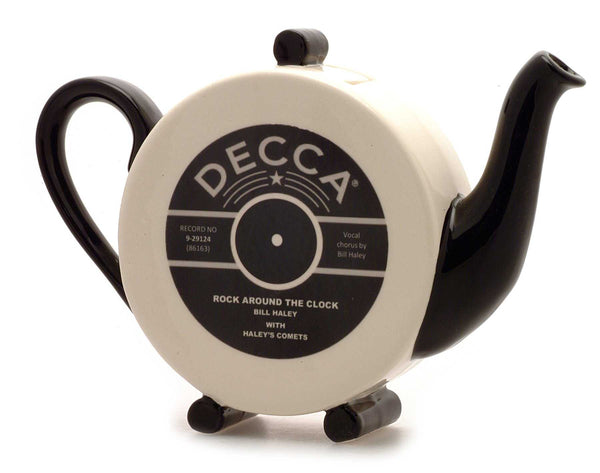 Decca record teapot by Carters of Suffolk - Peach Perfect