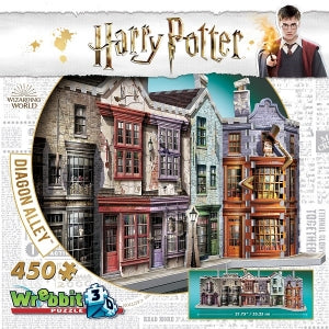 Harry Potter Diagon Alley 3D Puzzle - Peach Perfect