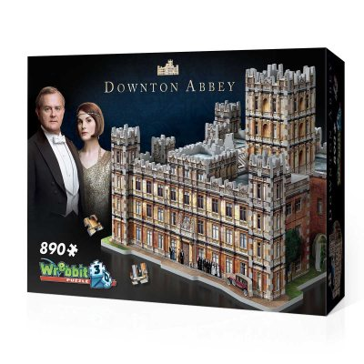 Downton Abbey 3D puzzle by Wrebbit - Peach Perfect